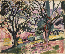 Promenade among the Olive Trees