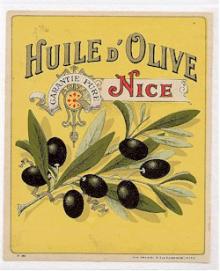 Huile d'Olive Garantie Pure Nice